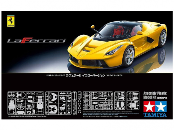 24347 Tamiya Автомобиль LaFerrari Yellow Version (1:24)