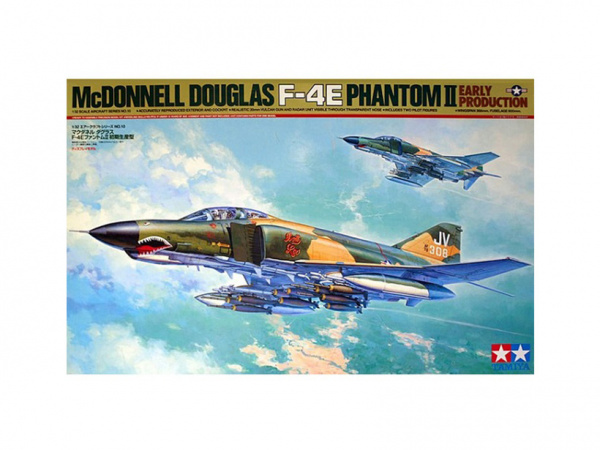 60310 Tamiya Американский самолёт McDonnell Douglas F-4E Phantom II Early Prod. (1:32)