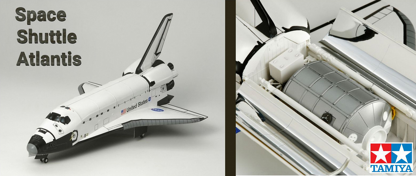 Баннер Tamiya Space Shuttle Atlantis