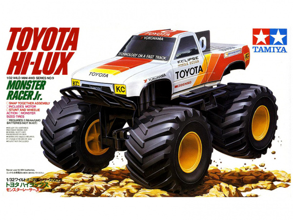 17009 Tamiya Toyota Monster Racer Jr. с электромоторчиком (1:32)