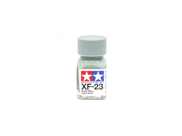 XF-23 Light Blue flat, enamel paint 10 ml. (Голубой матовый) Tamiya 80323